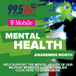 Help 99.5 The Wolf and T-Mobile Support the Mental Health of Our Veterans