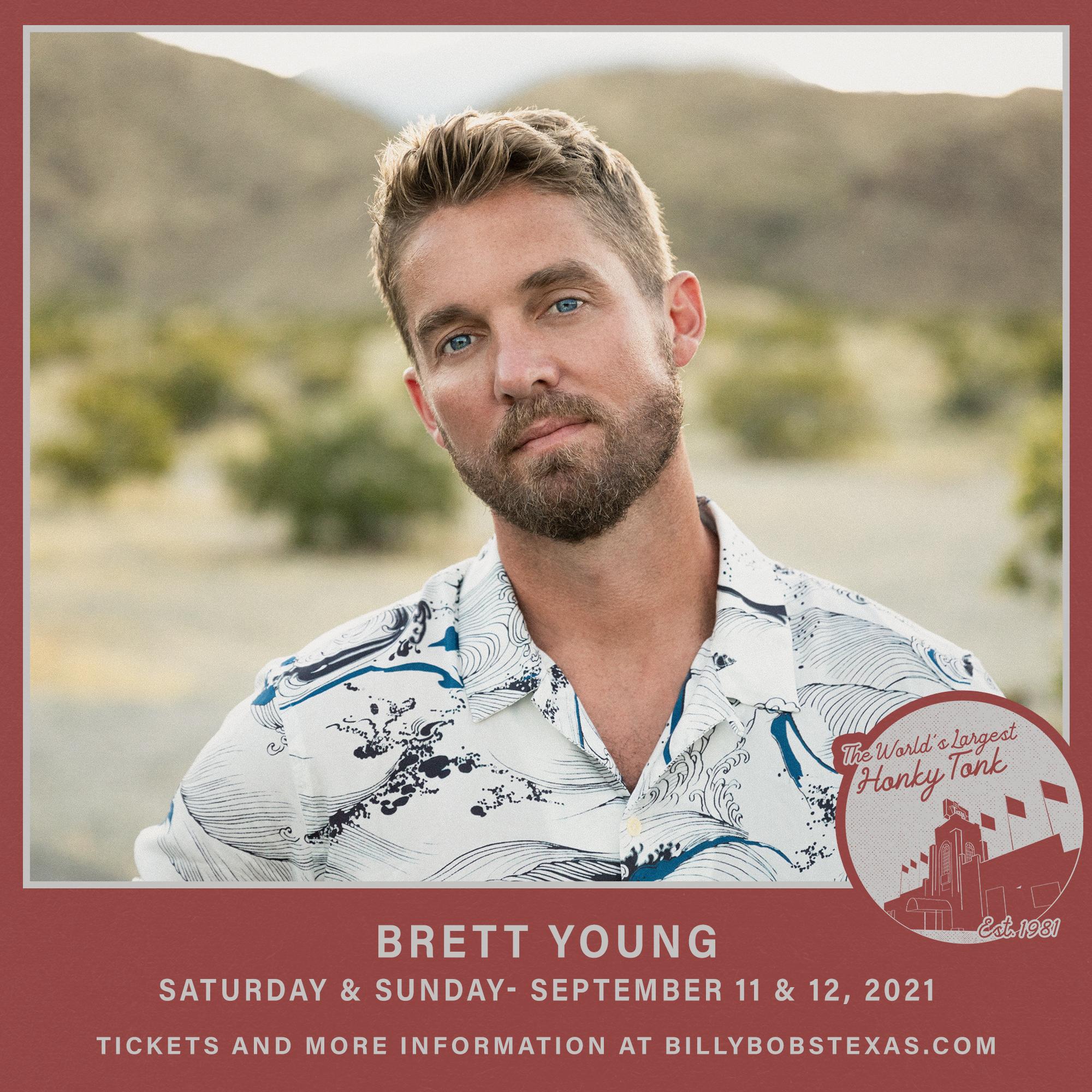 Brett Young | Billy Bob's Texas, September 11 & 12
