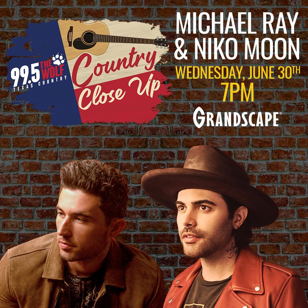 Country Close Up: Michael Ray & Niko Moon