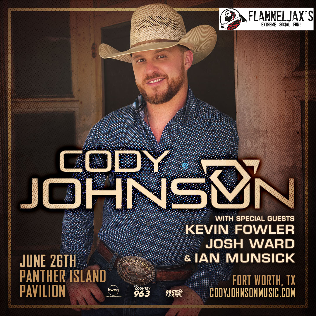 Don't Miss Your Final Chances to Win Cody Johnson Tickets!