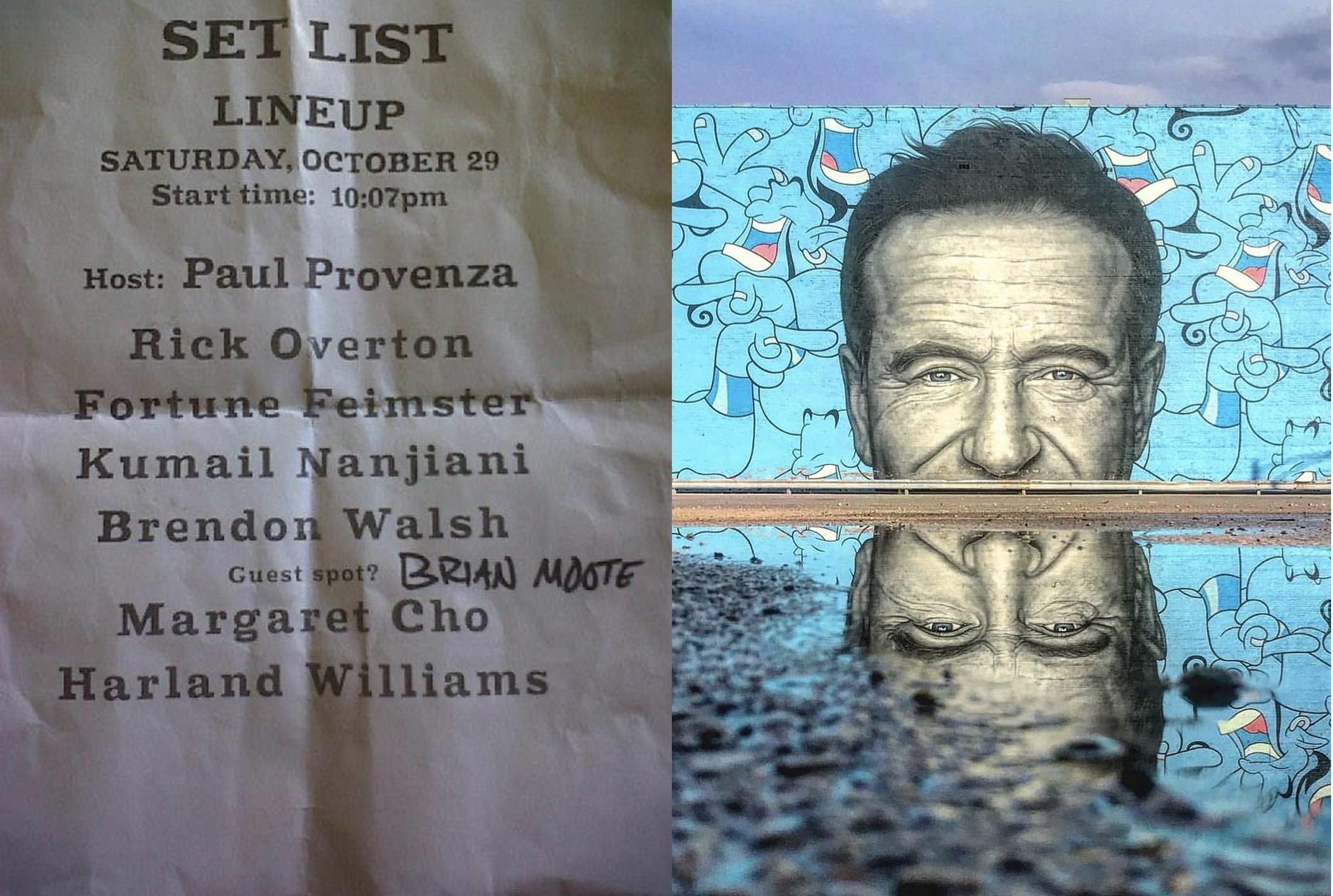 Meeting Robin Williams
