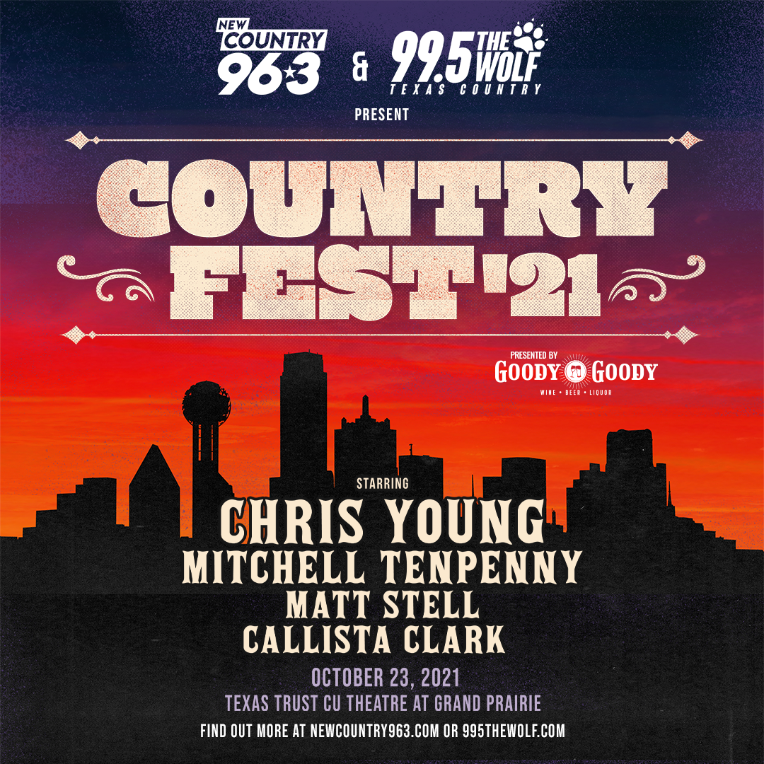 COUNTRY FEST '21 featuring Chris Young | 10.23.21