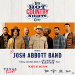 Win Tickets to See the Josh Abbott Band!
