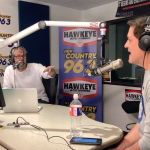 Mark Cuban Makes Surprise Announcement on the Hawkeye in the Morning Show