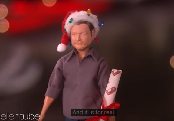 Blake Shelton Has A New Doll?