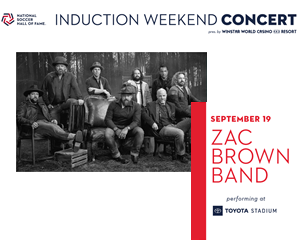 Zac Brown Band | Toyota Stadium | 9.19.20