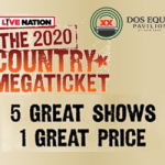 The 2020 Country Megaticket