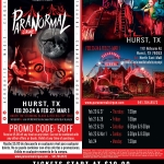 Win tickets to Paranormal Cirque in Hurst!