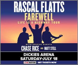 Rascal Flatts | Dickies Arena | 7.18.20