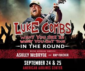 Luke Combs | American Airlines Center | NEW DATES: Nov 18 & 19, 2021