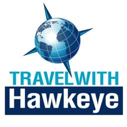 Discover The World with  the weekly Travel With Hawkeye podcast, hosted by Hawkeye.