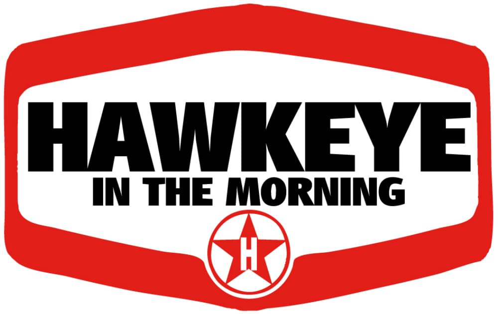 Hawkeye Logo White