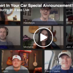 Our Chat With Josh Abbott, the Eli Young Band and Kevin Fowler – Stars of Concert in your Car