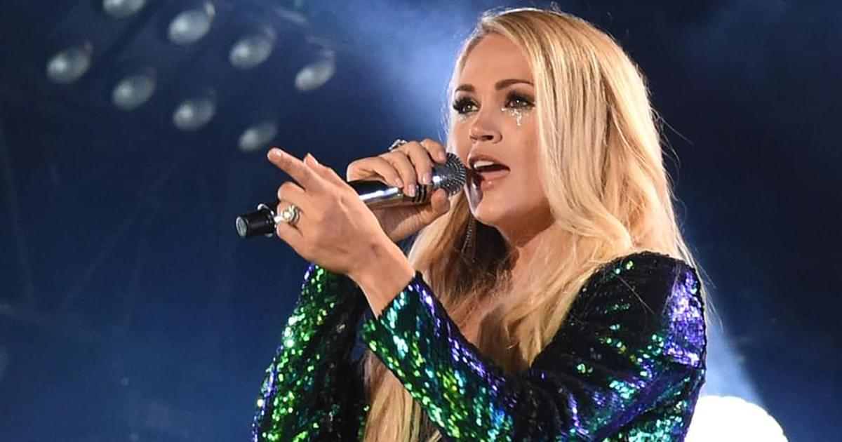 Watch Carrie Underwood Kick Off Sunday Night Football With New Recording Of Waiting All Day For Sunday Night New Country 96 3