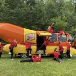 The Oscar Mayer Wienermobile is in DFW NOW!