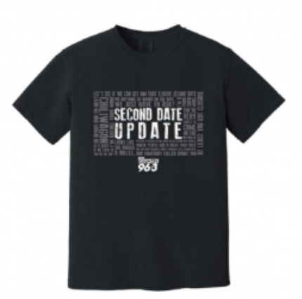 Our Latest Second Date Updates T Shirts – On Sale Now and benefitting Cook Children's Hospital