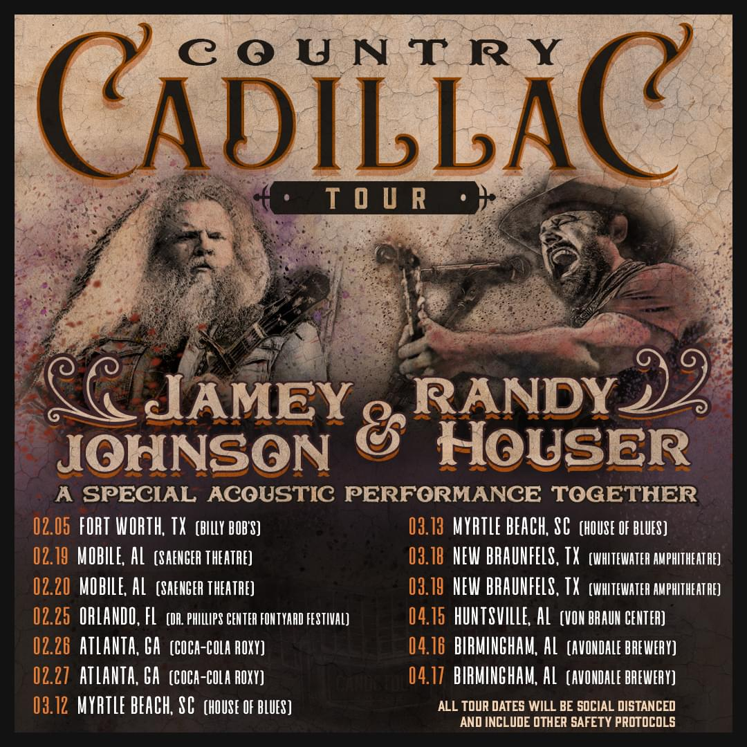 Jamey Johnson and Randy Houser – Country Cadillac Tour