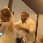 VIDEO: Groom Throws Whole Wedding Cake at Bride