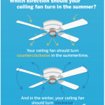 Do you change the direction of your ceiling fan in the winter? Hawkeye and Michelle investigate