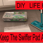Hawkeye's DIY Video – How to keep the Swiffer Pad on the Swiller Mop