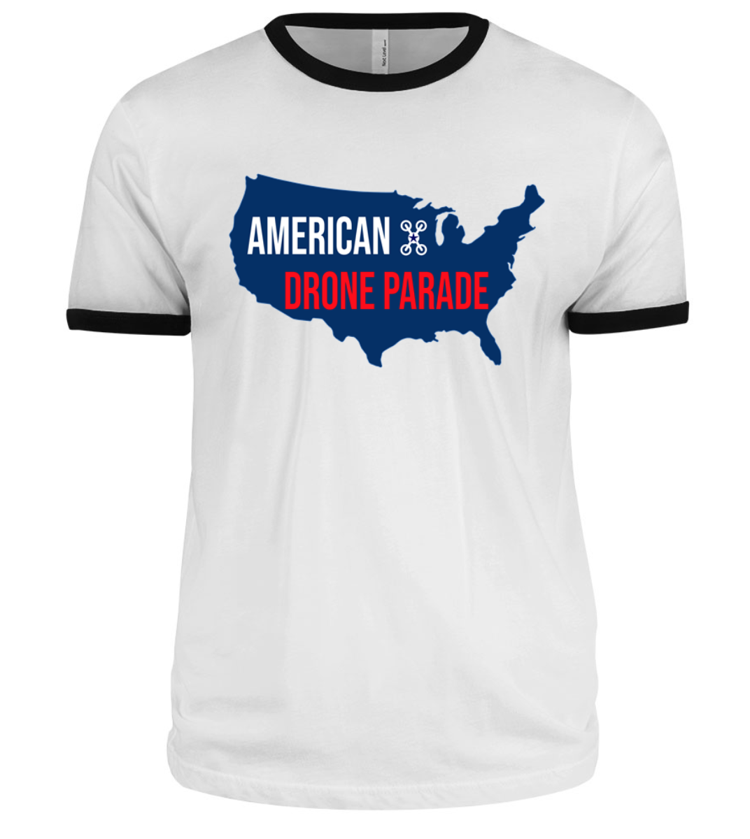 Celebrate April Fools with an American Drone Parade T Shirt