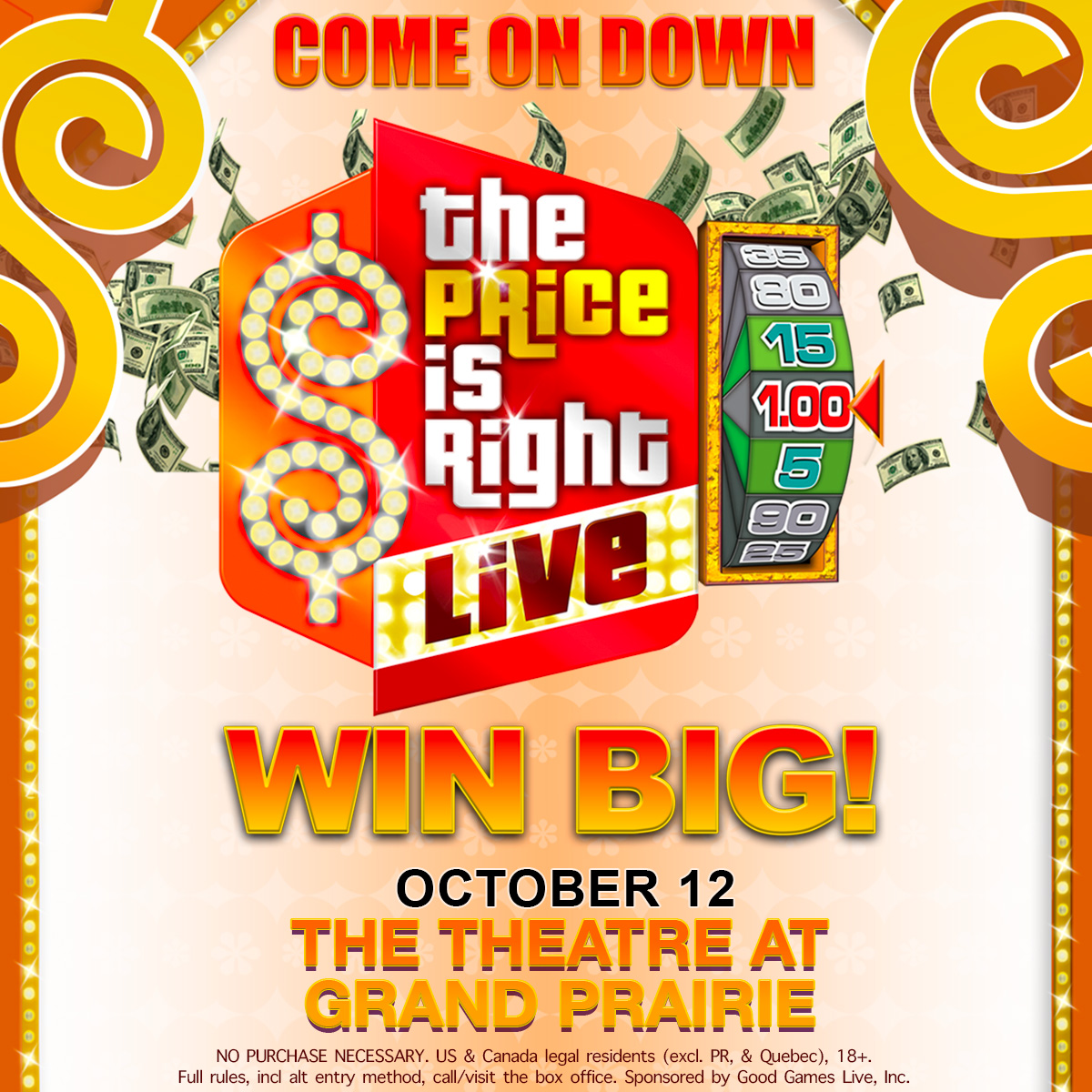 The Price is Right Live! | The Theatre at Grand Prairie,