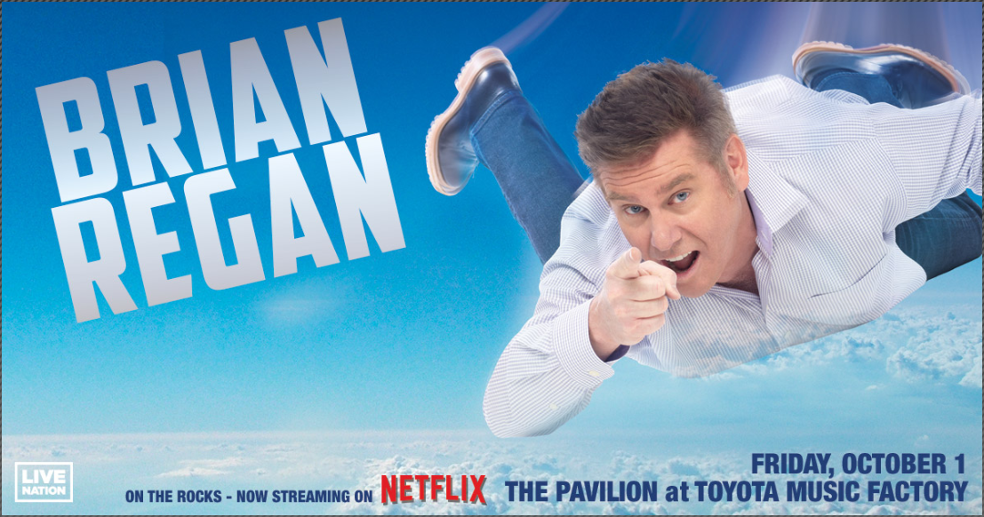 Brian Regan | The Pavilion at Toyota Music Factory, 10/1/21