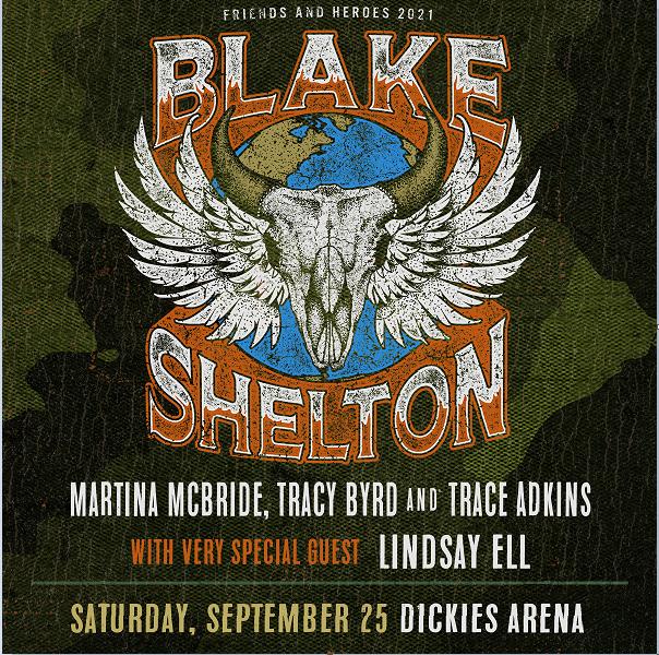 Blake Shelton | Dickies Arena, 9/25/21