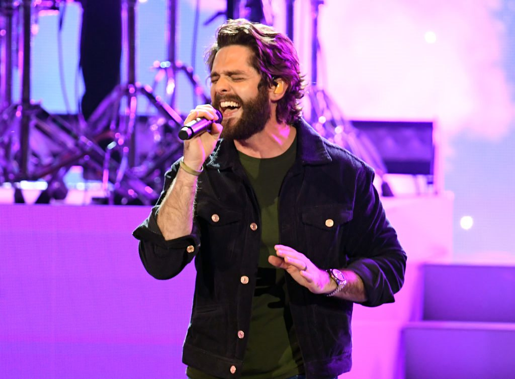These are the Disney Soundtrack Songs that are Inspiring Thomas Rhett Right Now