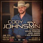 Last Chances to Win Cody Johnson Tickets!