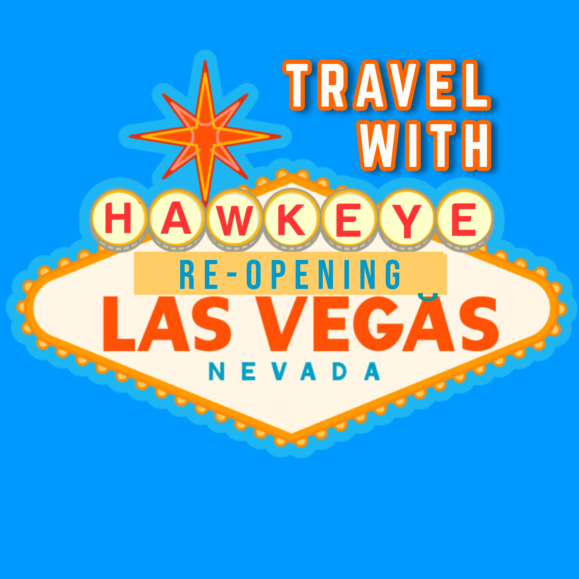 Las Vegas is 100% Open – Find out more on the Travel With Hawkeye podcast