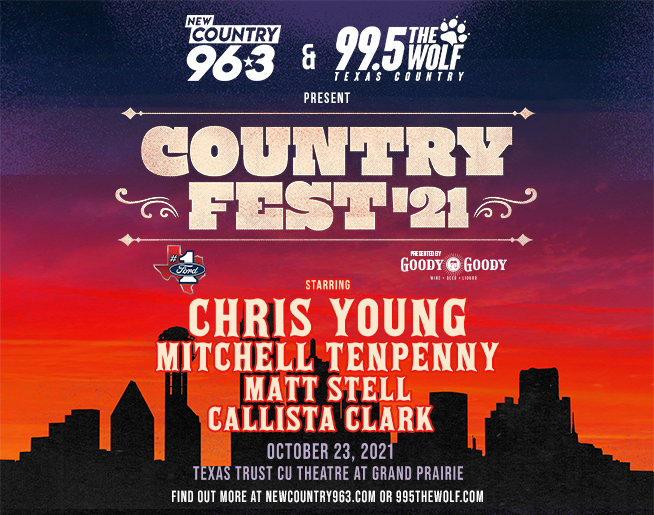 COUNTRY FEST '21 featuring Chris Young   10.23.21