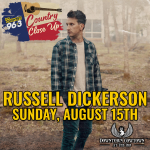 Country Close Up with Russell Dickerson