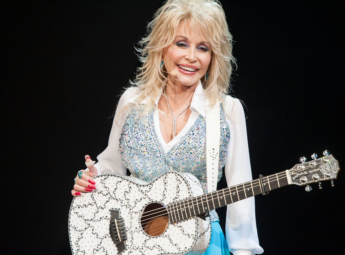Dolly Parton Celebrated Her Husband's Birthday By Recreating Her Iconic Playboy Cover