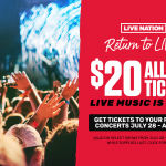 Return to Live – Pick Your Ticket!