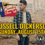 Country Close Up featuring Russell Dickerson!