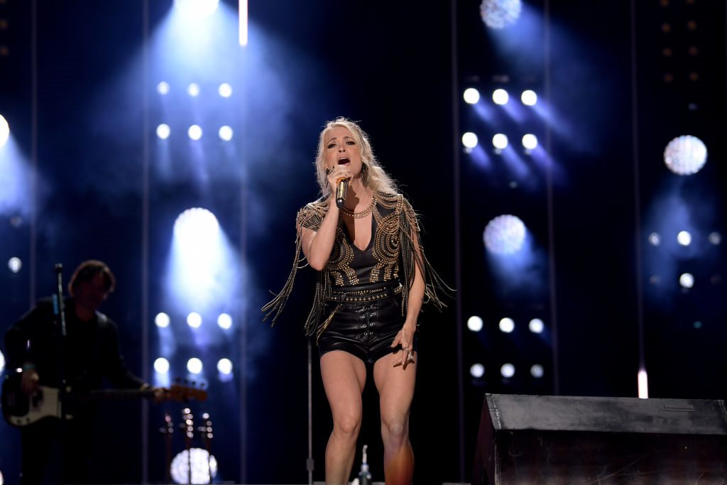 LOOK: Carrie Underwood Sent Mickey Guyton's 5 Month Old a Piano!