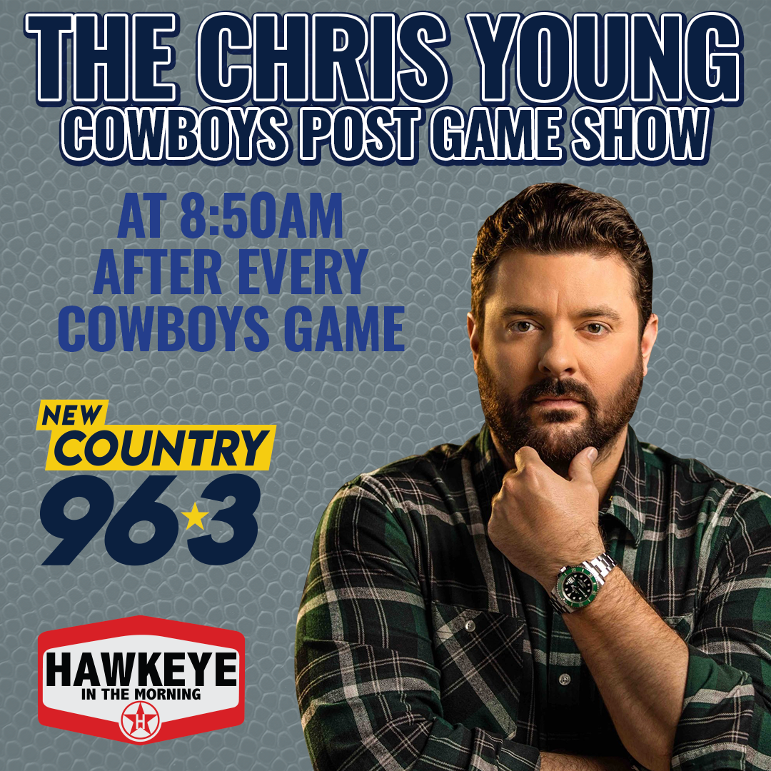 Country Star Chris Young Joins the Hawkeye in the Morning Show