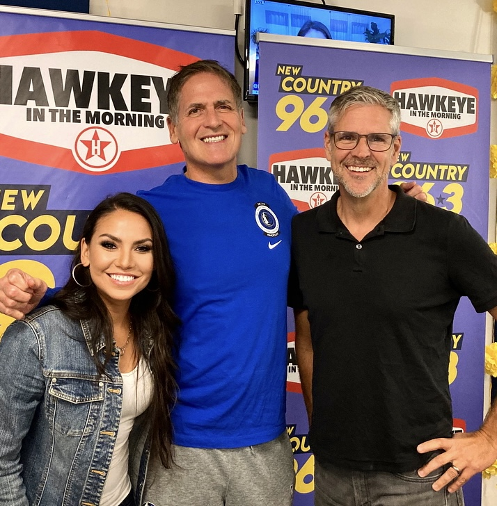 Mark Cuban Stops By To Talk Mavs with Hawkeye and Michelle
