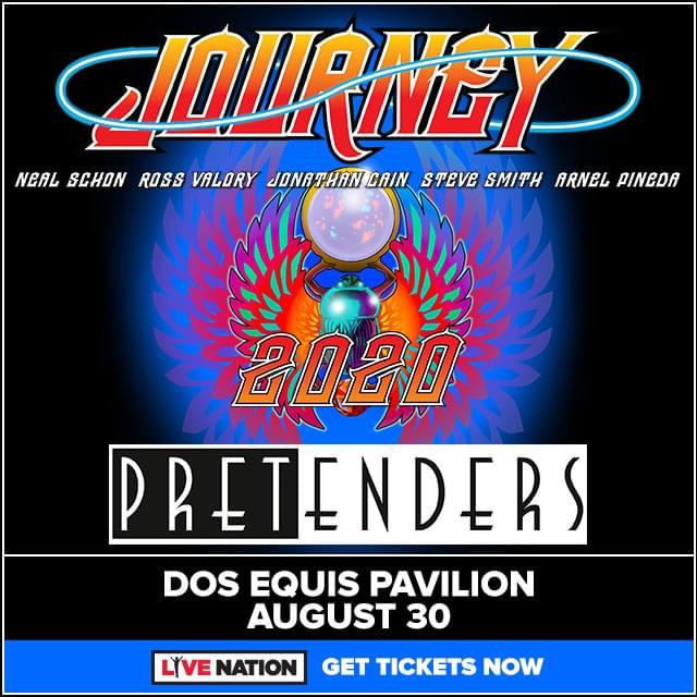 Journey @ Dos Equis Pavilion | 8.30.20