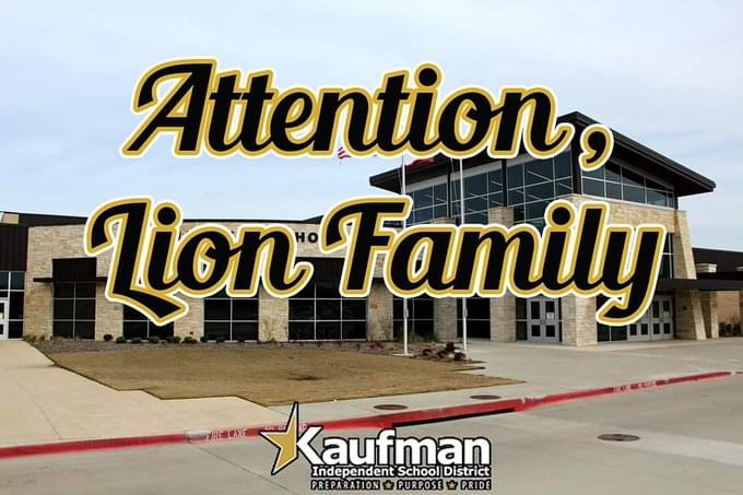Kaufman ISD Cancels Classes Due to Water Main Break
