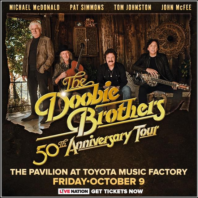 Listen to Win The Doobie Brothers Tickets!