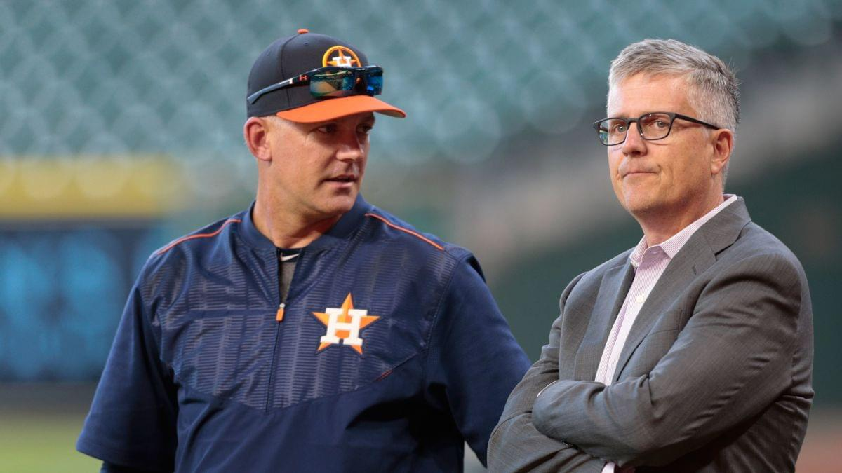 Image result for Aj Hinch Jeff luhnow