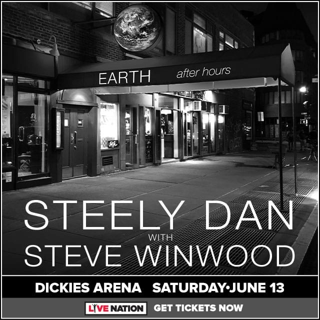 Enter to Win Steely Dan and Steve Winwood Tickets!