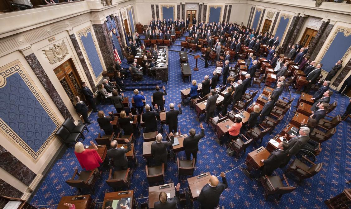 WATCH: Impeachment Trial of President Trump Resumes in the U.S. Senate