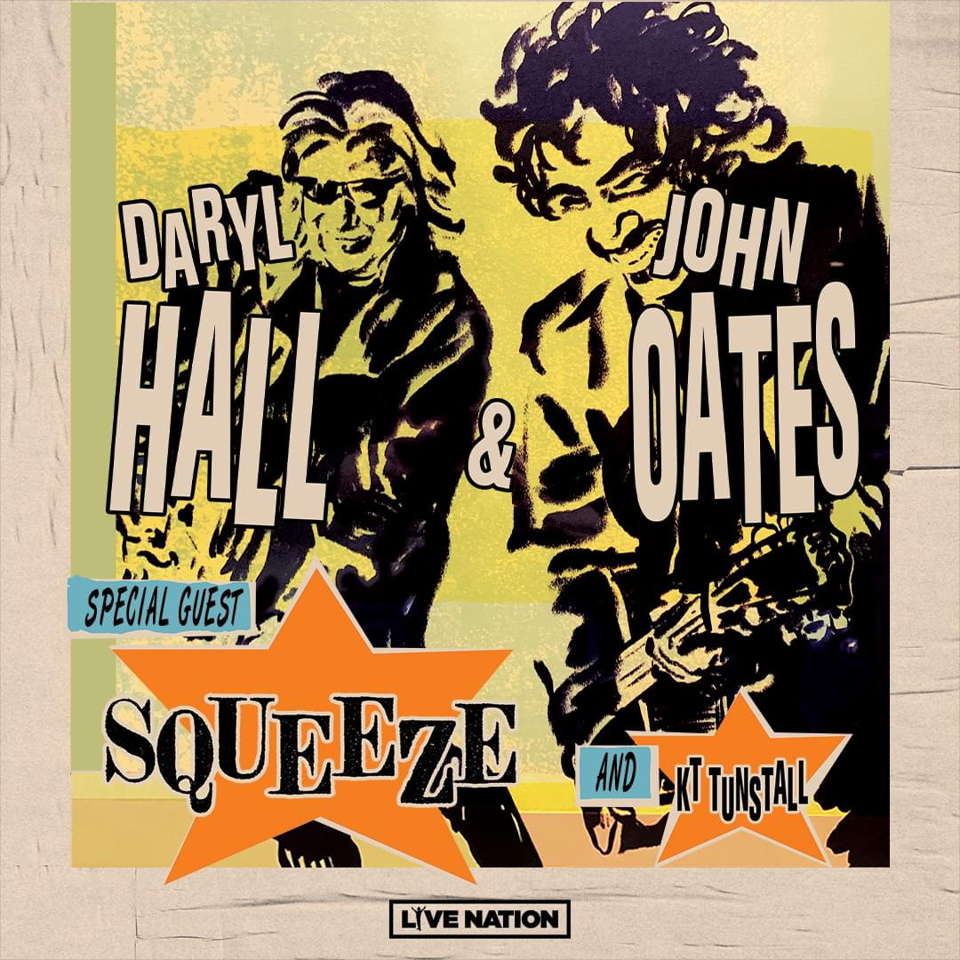 Enter to Win Tickets to see Hall and Oats!
