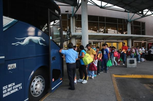 WBAP Morning News: Greyhound Bus Line to Stop Allowing Border Agents to Search Their Buses Without a Warrant