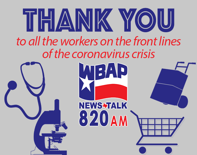 WBAP Wants To Send Out A Special Thank You!