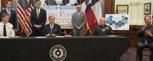"""Governor Abbott Issues Statewide """"Essential Services"""" Order"""