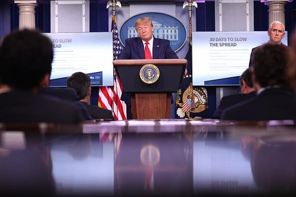 President Trump Says 'life and death' is at Stake in the Latest COVID-19 Guidelines